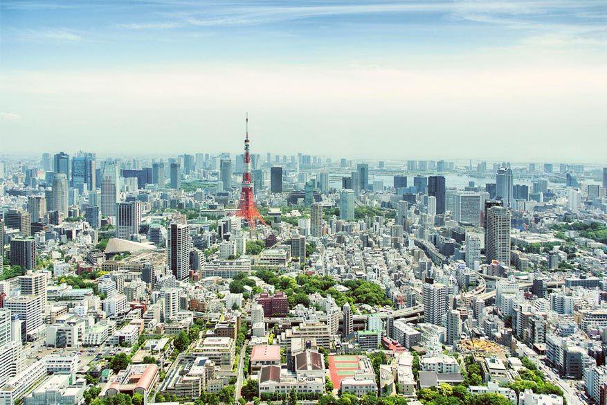 Metropool Tokyo in Japan is de absolute topbestemming in 2016