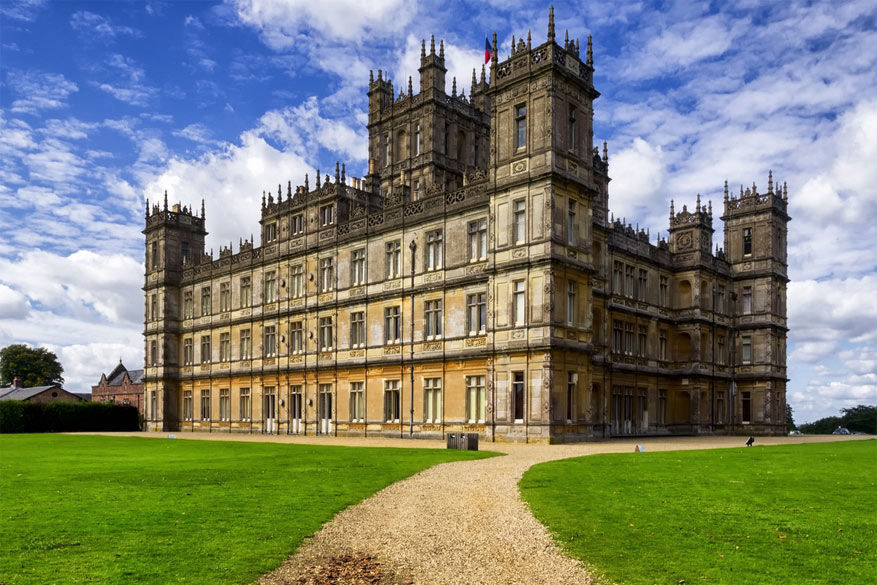 Downton Abbey: Highclere Castle in Hampshire