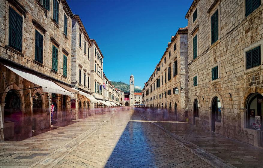 Stradùn in Dubrovnik