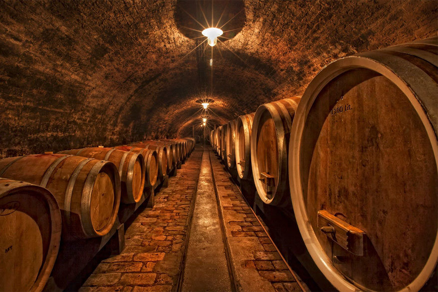 Kroatië: een wijnkelder in Ilok. © Vasja Pinzovski