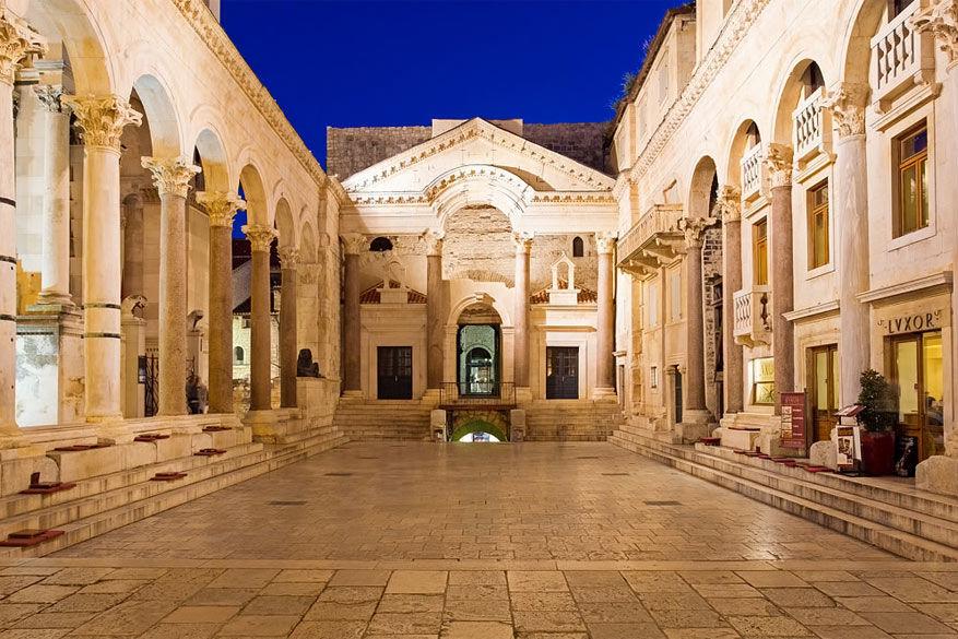 Het Paleis van Diocletianus