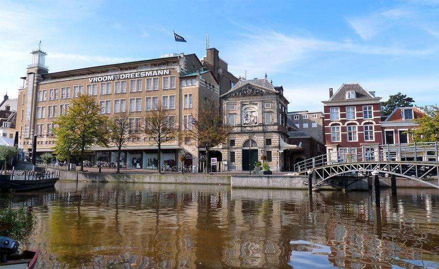 Leiden: uitzicht op de Waag
