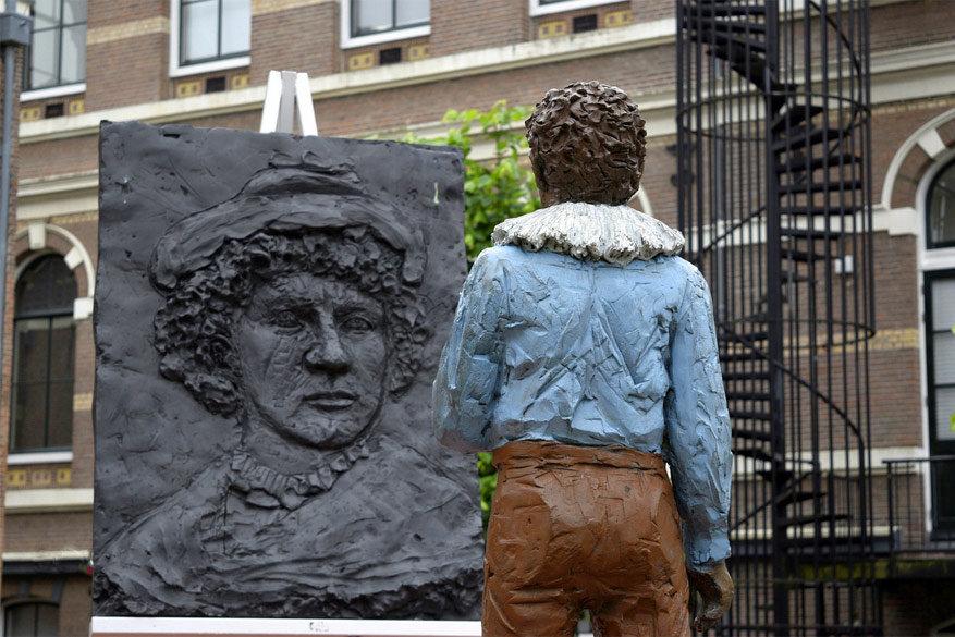 Leiden: waar Rembrandt overal aanwezig is