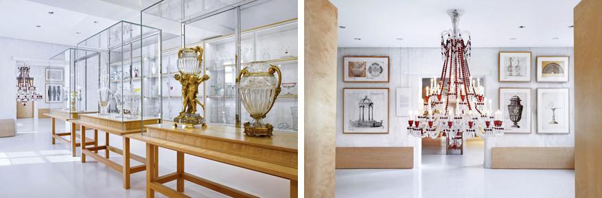 Letterlijk schitterende stukken in het nieuwe Baccaratmuseum