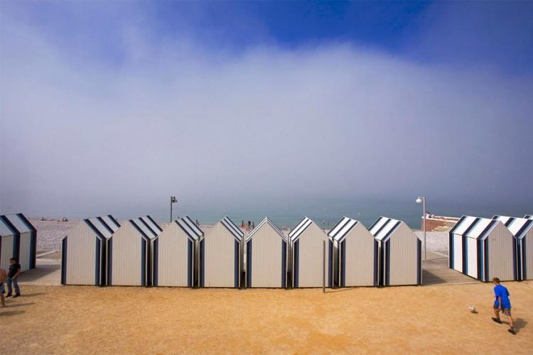 Yport, Normandië in Frankrijk © Jean-Luc Bohin