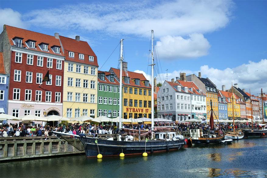Kopenhagen: hoogtepunt één: Nyhavn