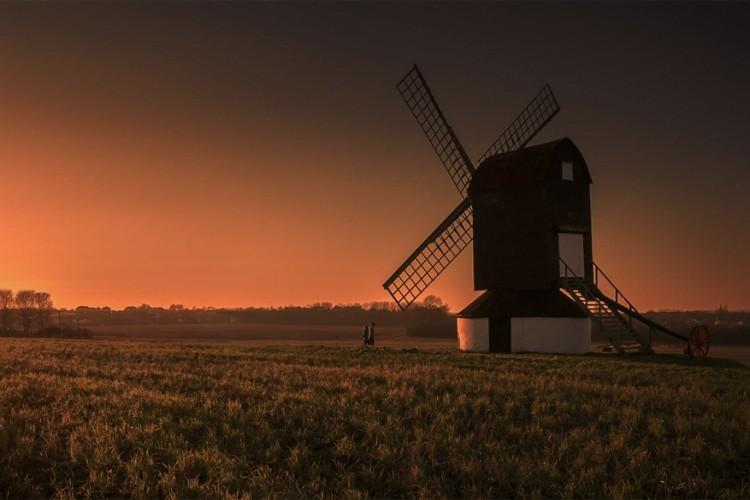 Pitstone Windmill, Ivinghoe, Buckinghamshire, Engeland © Keith Millard