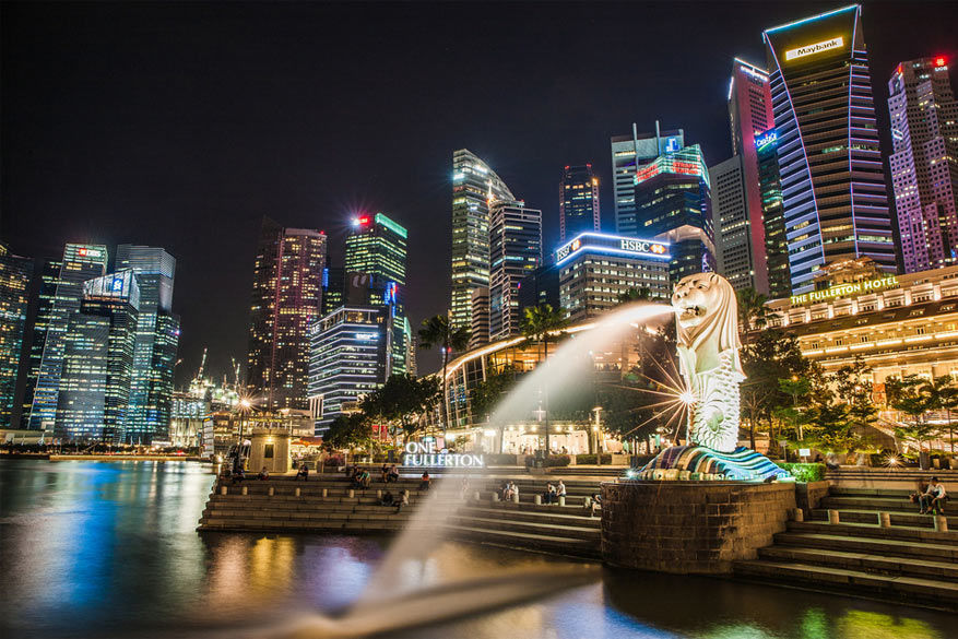 Singapore: het nationaal symbool de Merlion