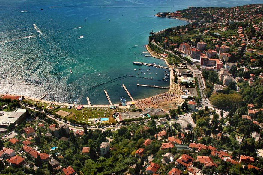 Slovenië: badstad Portorož