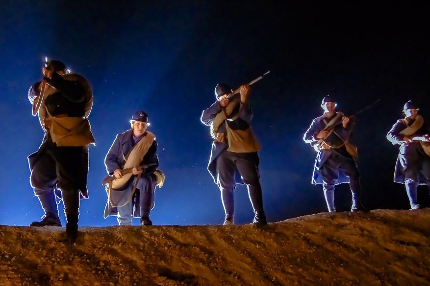 Spektakel verzekerd met de nieuwe klank- en lichtshow over de Eerste Wereldoorlog