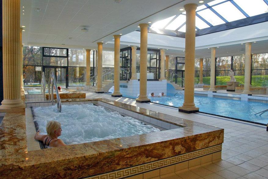 Afsluiten doe je ontspannend: in de wellness van Amnévilles-Les-Thermes