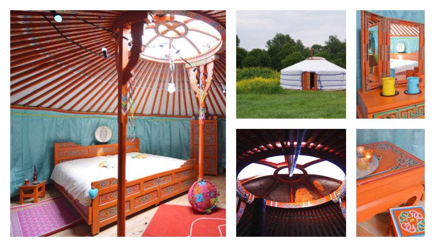 Belvilla: slapen in een yurt