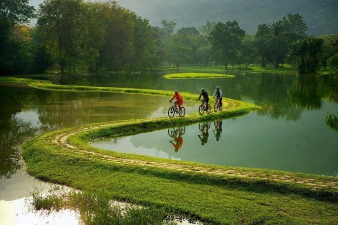 Verrassend fietsen in Thailand