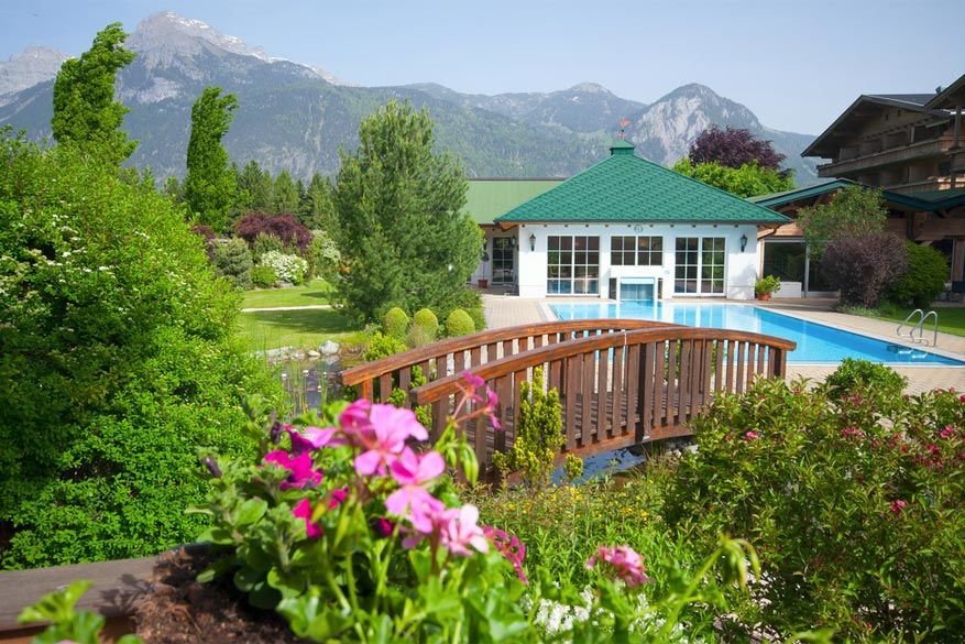 De tuin van Pirchner Hof