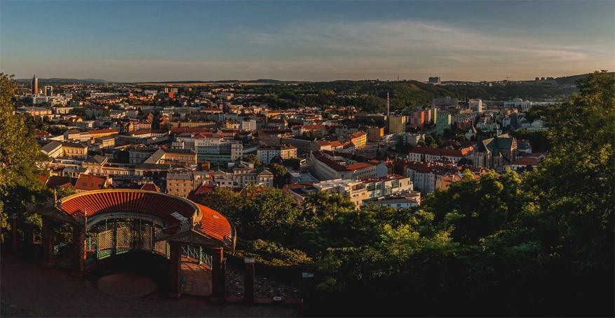Hip Tsjechië: uitzicht op Brno. © Roman Kozák