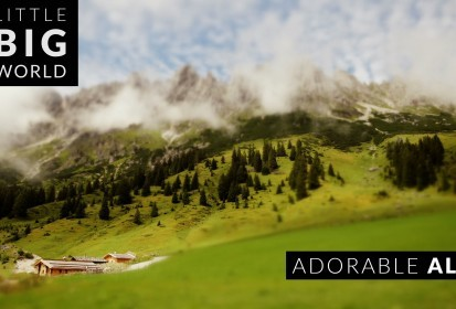 De Oostenrijkse Alpen in 't klein