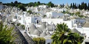 Zien: Zuid-Italiaanse stenen huisjes in Matera en Alberobello