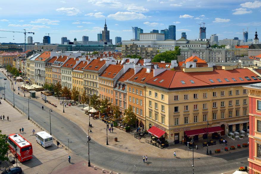Het Warschau van Chopin. © Toerisme Warschau