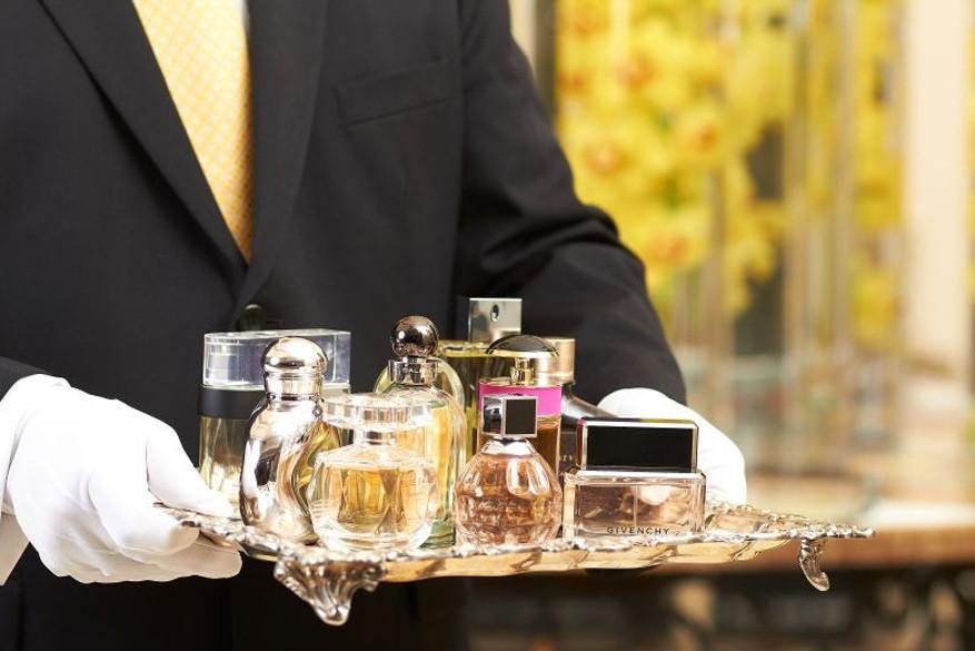 Een geurbutler vind je in het Rosewood Hotel. © Rosewood Hotel