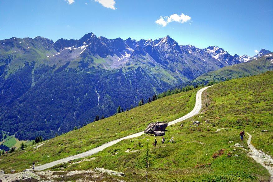 Jakobsweg: genieten van de wandelingen in het Tiroolse landschap