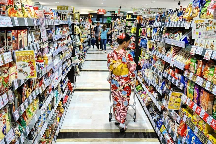 Eens je weet wat je nodig hebt uit de supermarkt, koop je een heel goedkope maaltijd bij elkaar. © Tim Russell