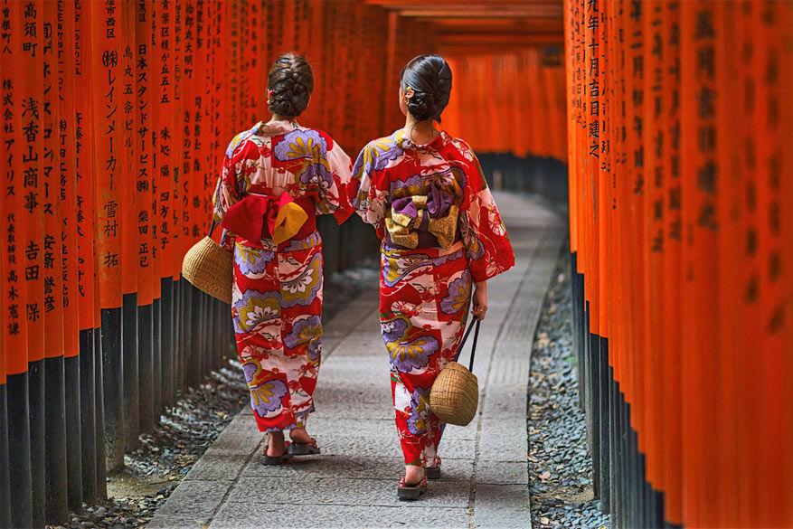 Japanners blijven vasthouden aan hun eeuwenoude tradities, gelukkig! © Brian Hammonds