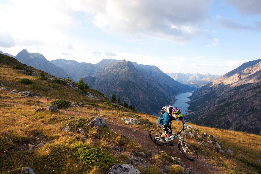 Livigno: fietsen tussen de bergtoppen