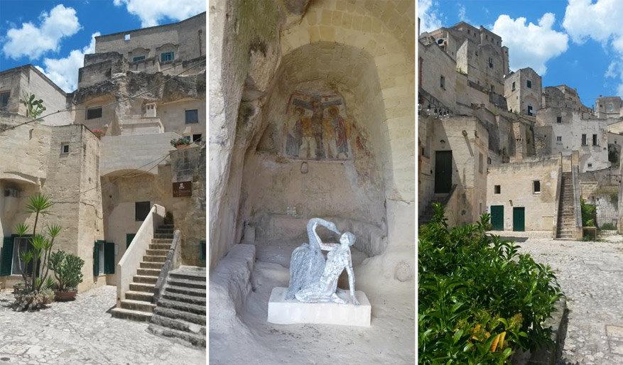 Zuid-Italië: monniken versierden de huisjes met fresco's. © Herman Taelman
