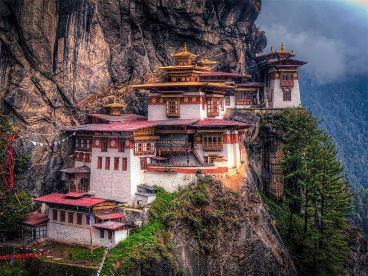 Paro Taktsang klooster, Bhutan