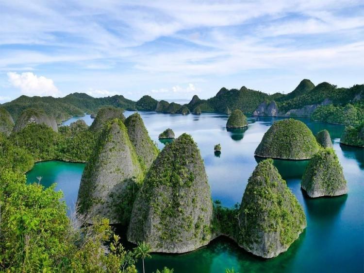 Raja Ampat Island, Indonesië