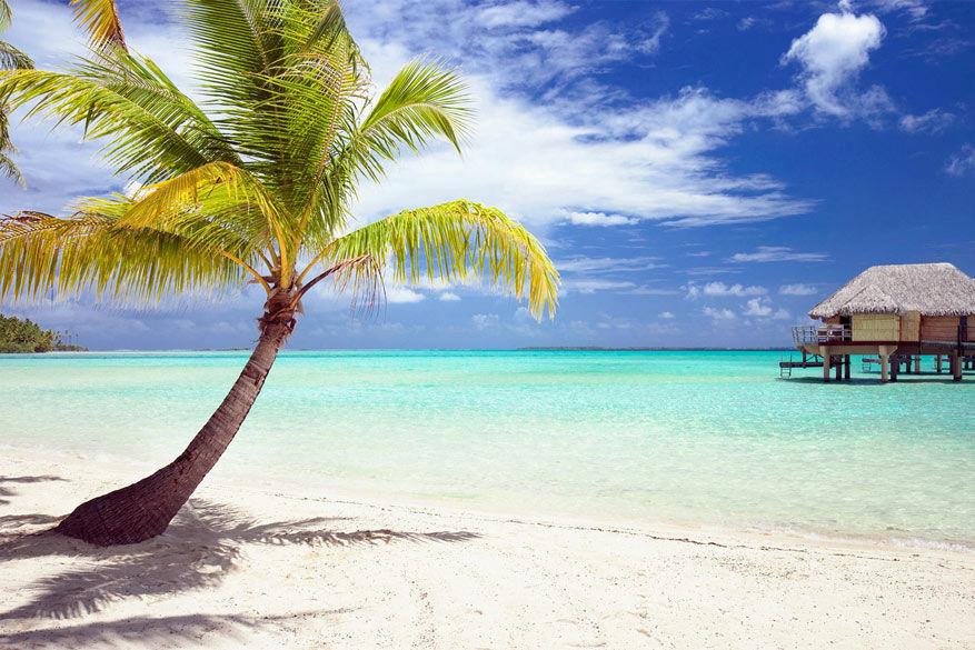 Een dagje strand is het duurst op de eilanden van Frans-Polynesië. © Gable Denims