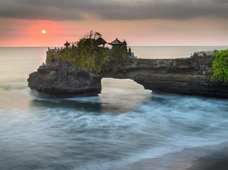 Tanah Lot, Bali, Indonesië