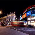 Piccadilly Circus: hier verschijnselen Harry, Ron en Hermelien nadat de Dooddoeners aanvielen op het trouwfeest van Bill Wezel en Fleur Delacour in 'De Relieken van de Dood Deel 1'. In het boek gebeurt dat op Tottenham Court Road. © Fabian Irsara
