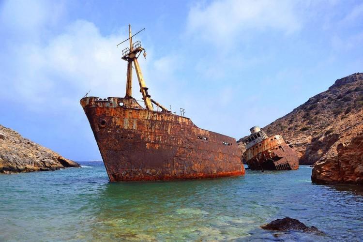 Kalotaritissa op het eiland Amorgos in Griekenland © Manolis Smalios