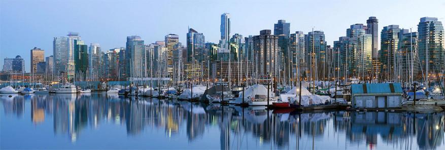 De skyline van wereldstad Vancouver. © Jit Lim