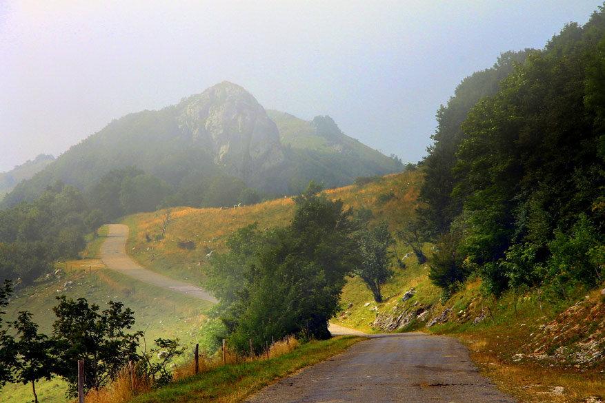 Het voorgebergte van de Grand-Colombier