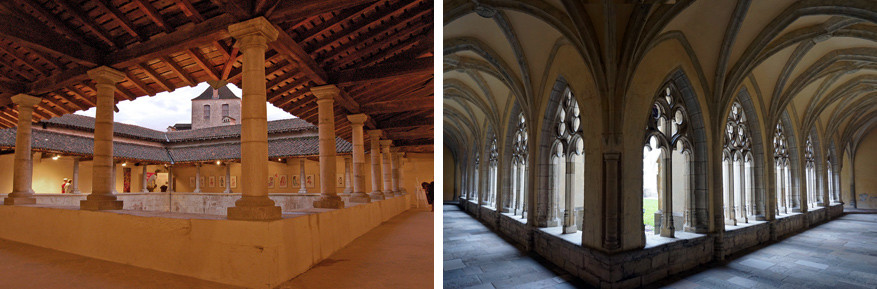 De abdij Notre-Dame d'Ambronay