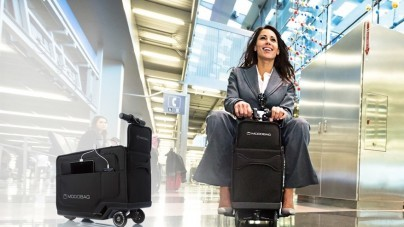 Hoe je koffer je naar de luchthaven voert