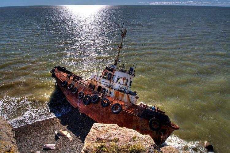 Aan de zee van Ochotsk in Rusland © Savitskiy Igor