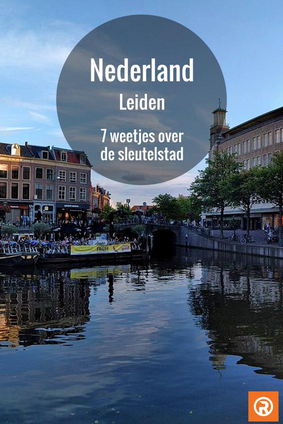 weetjes over Leiden