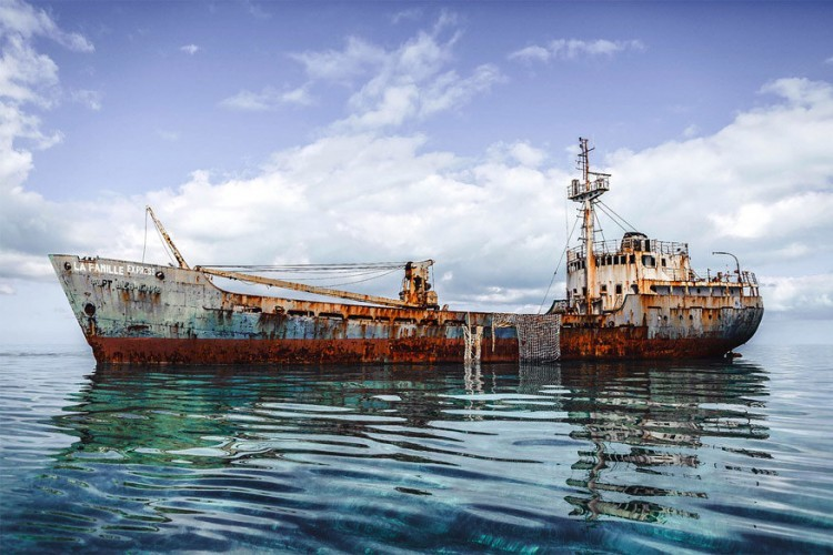 Voor de kust van Provindenciales, de Turks- en Caicoseilanden © Golden