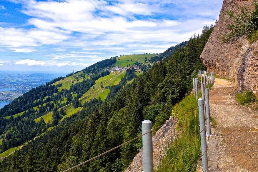 De bloemenweg naar Rigi Scheidegg. © Steven Loockx