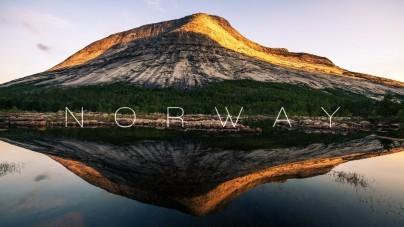 Zo betoverend zag je Noorwegen nog nooit