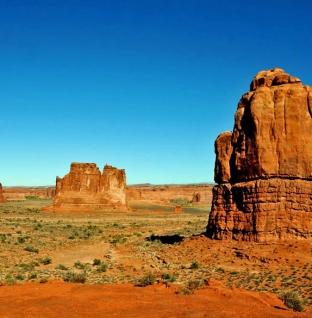 Roadtrip langs natuurscenes in Amerika: de laatste goudkleurige rotsen van de VS