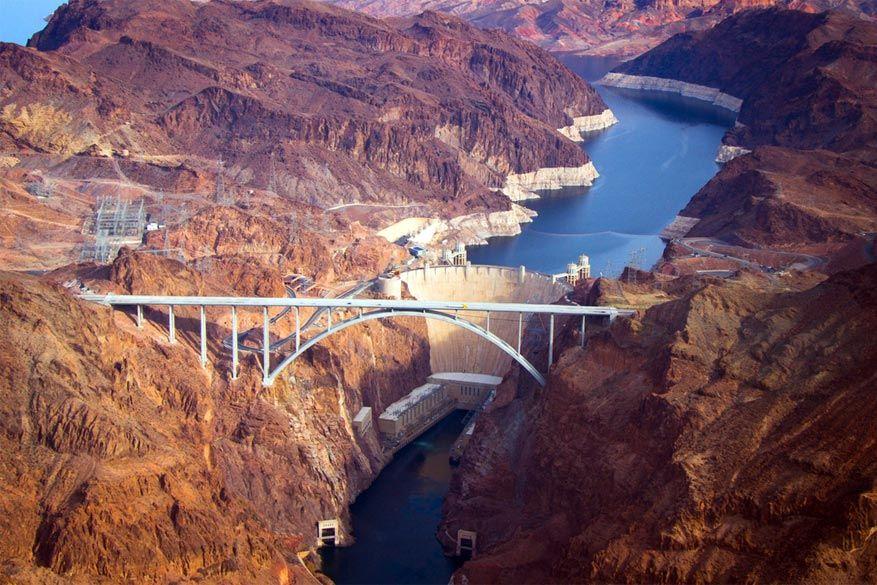 Hoover Dam bij Las Vegas. © Adam Fryday