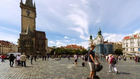 Segways niet meer welkom in Praag