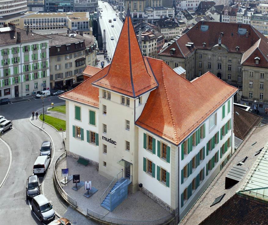 Het mudac in Lausanne, ZwitserlandHet mudac in Lausanne, Zwitserland