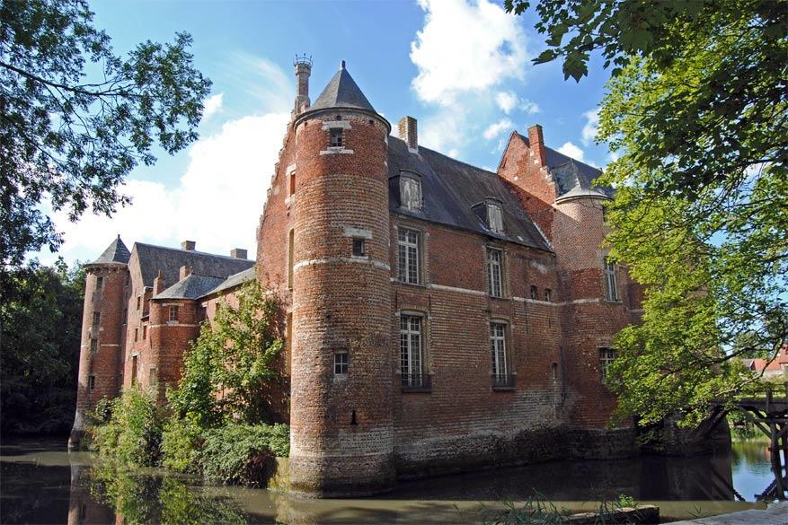 Het kasteel van Esquelbecq