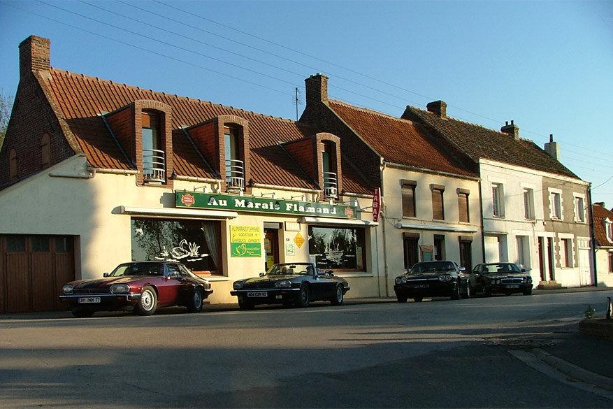 Café 'Au Marais Flamaind' in Nieurlet