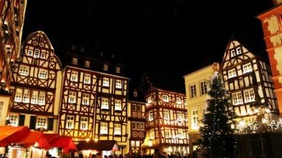 Traben-Trarbach en Bernkastel-Kues aan de Moezel maken zich op voor kerst
